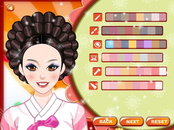 game Thoi trang Han Quoc co xua