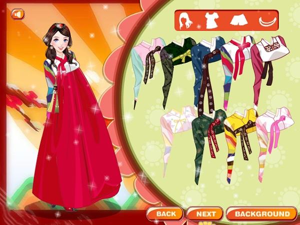 game Thoi trang Han Quoc hinh anh 2