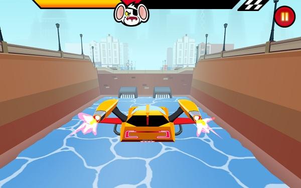 game Chuot nguy hiem dua xe danger mouse full speed extreme turbo