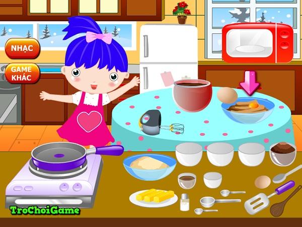 game Lam banh pudding nam moi hinh anh 2