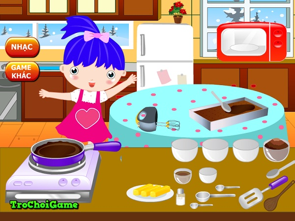 game Lam banh pudding nam moi hinh anh 3