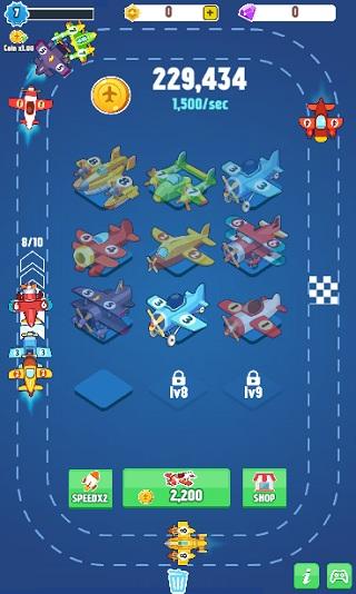 game Merge Plane hinh anh 1