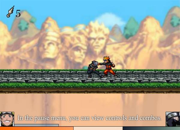 game Naruto chien dau hinh anh 1