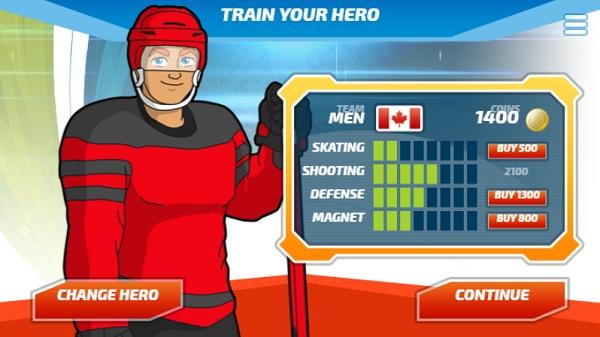 game Sieu sao Hockey hero