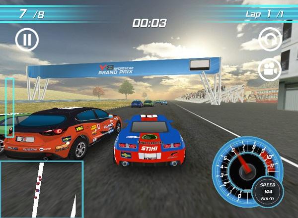 game Dua xe Grand Prix 3D hinh anh 2