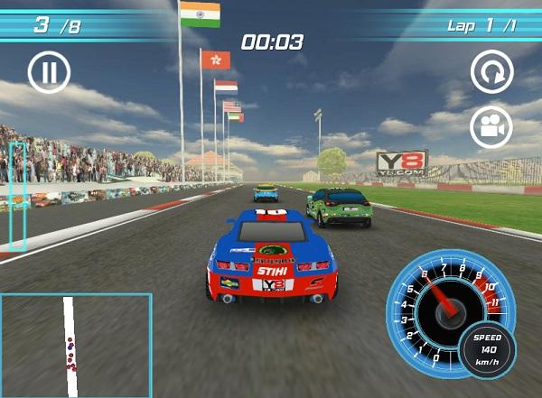 game Dua xe Grand Prix 3D hinh anh 3