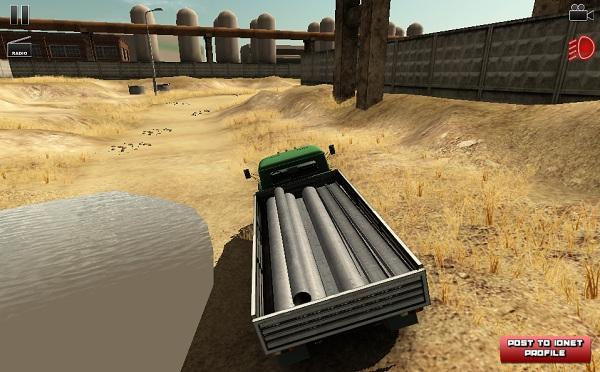 game Lai xe cho hang 3D 2 hinh anh 1
