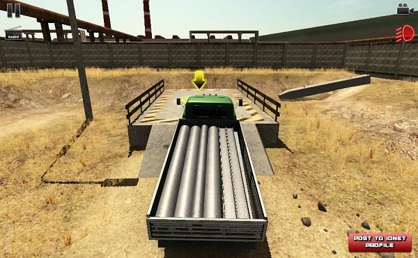 game Lai xe cho hang 3D 2 hinh anh 2