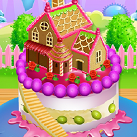 Làm bánh ngôi nhà búp bê