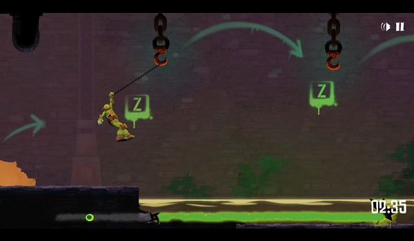 game Ninja rua duoi cong ngam hinh anh 2