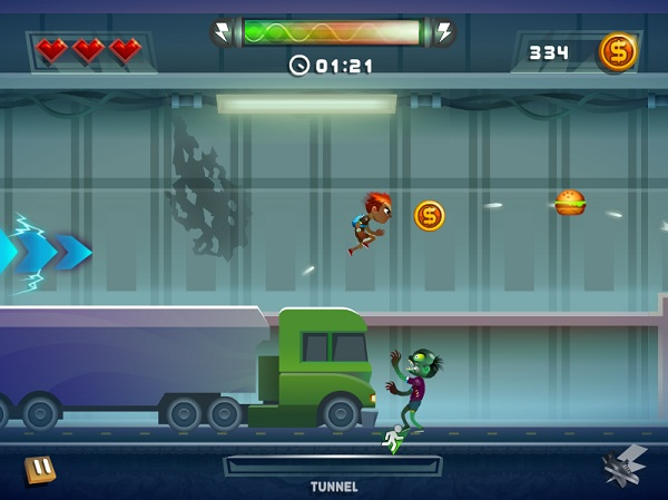 game Chay tron zombie hinh anh 1