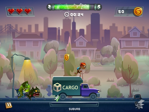 game Chay tron zombie hinh anh 3