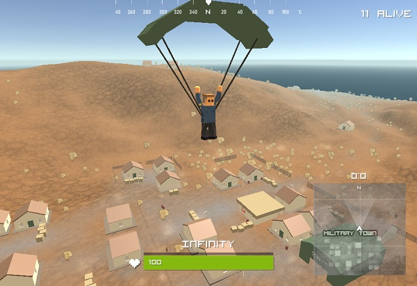 game PUBG Minecraft hinh anh 2