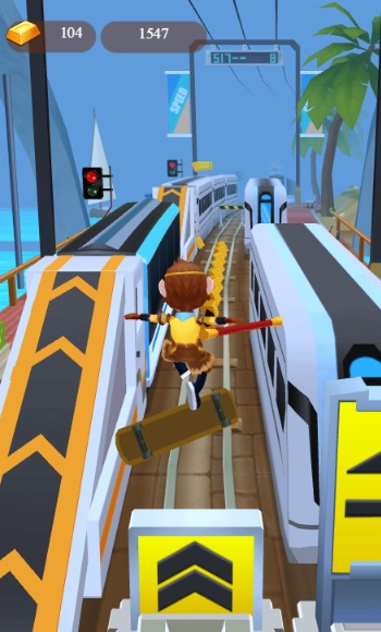 game Subway Surfers phien ban moi hinh anh 1