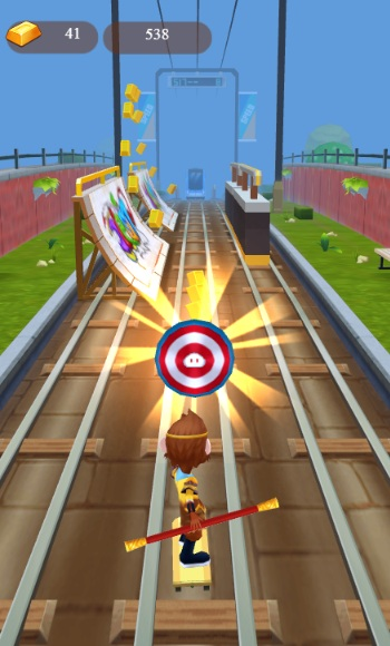 game Subway Surfers phien ban moi hinh anh 2