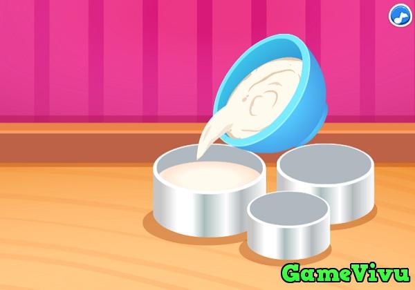 game Cong chua Elsa lam banh kem hinh anh 2