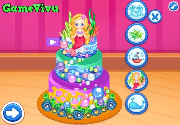 game Cong chua Elsa lam banh kem hinh anh 3