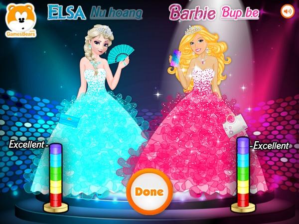 game Elsa vs Barbie 2 hinh anh 3