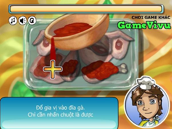 game Ga nuong khoai tay hinh anh 2
