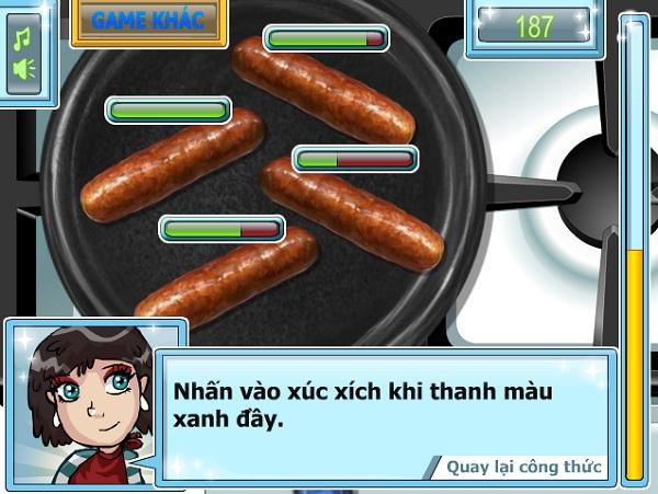 game Lam banh kep hinh anh 1