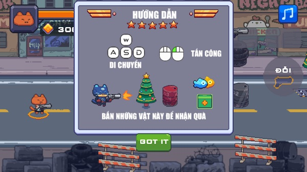 game Meo sat thu diet zombie hinh anh 1