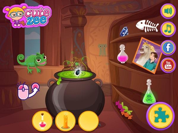 game Rapunzel tra thu Flynn hinh anh 3