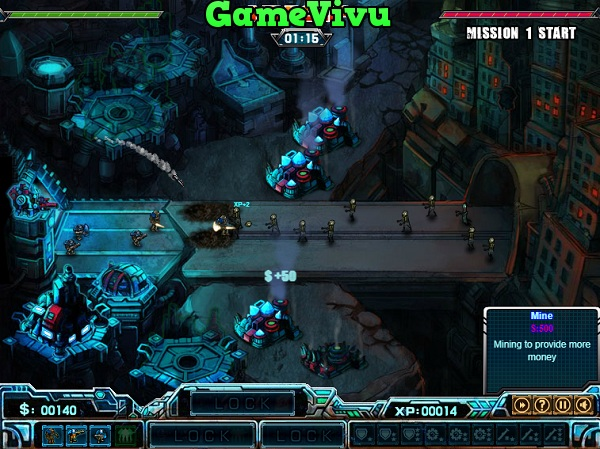 game Robot vs Zombie 2 hinh anh 1