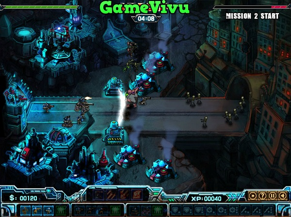 game Robot vs Zombie 2 hinh anh 3