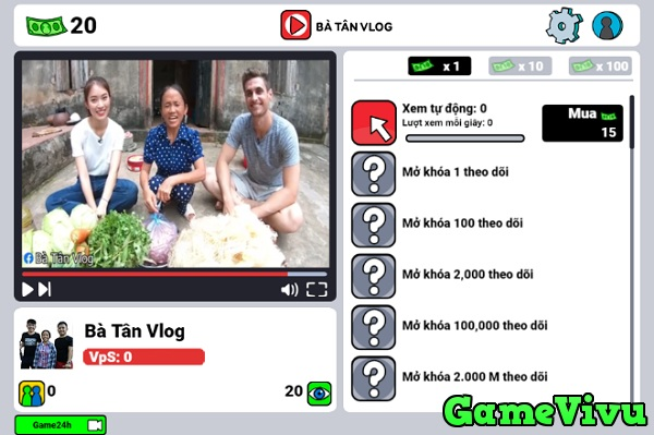 game Ba Tan Vlog hinh anh 1
