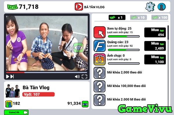 game Ba Tan Vlog hinh anh 2