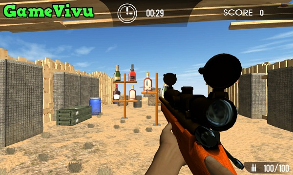 game Ban chai 3D hinh anh 1