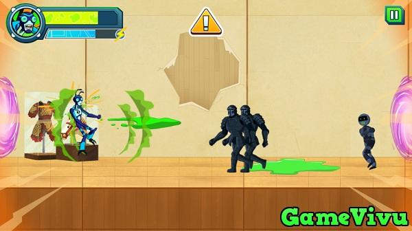 game Ben 10 giai cuu the gioi hinh anh 2