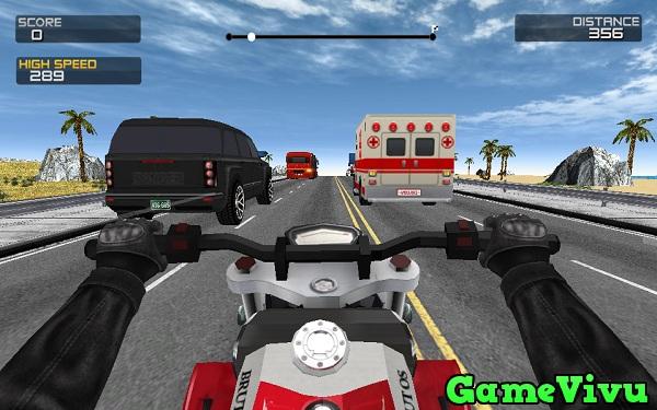 game Dua xe moto duong truong hinh anh 1