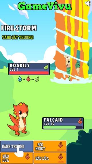 game Huan luyen Pokemon hinh anh 1