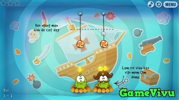 game Qua khu cua Om Nom hinh anh 1