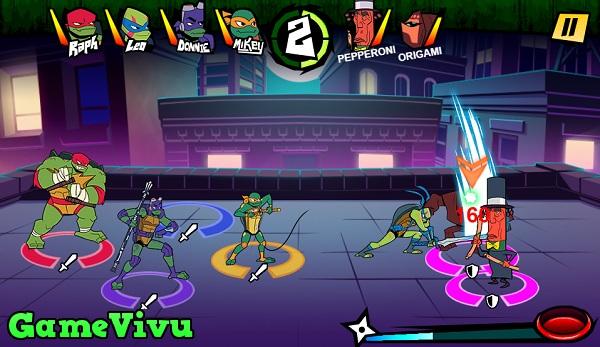 game Thieu nien ninja rua dot bien hinh anh 2