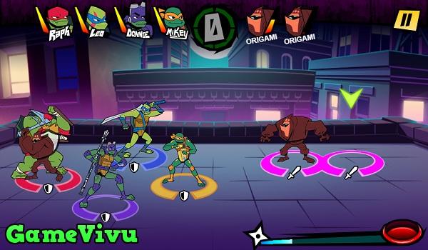 game Thieu nien ninja rua dot bien hinh anh 3