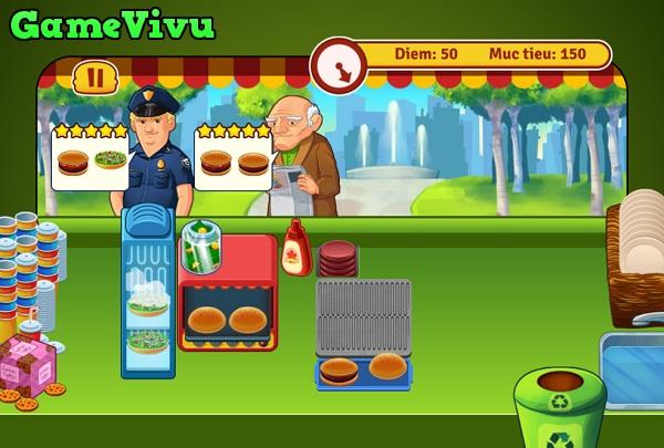 game Tiem banh hamburger hinh anh 2