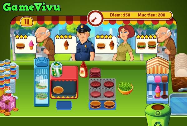 game Tiem banh hamburger hinh anh 3