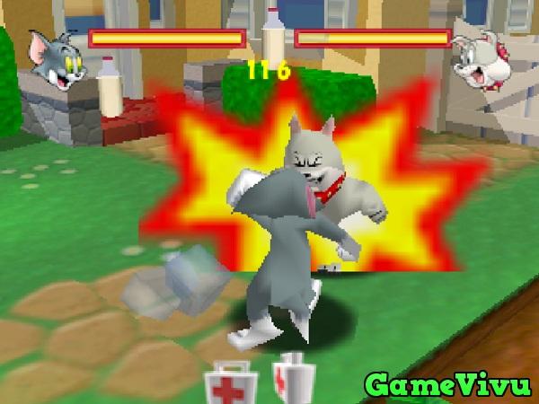 game Tom va Jerry danh nhau 2 nguoi mien phi