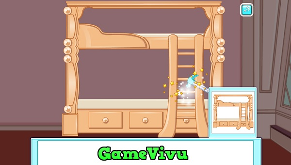 game Trang tri phong ngu cho cong chua hinh anh 1