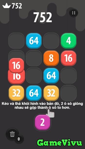 game 2048 phien ban moi hinh anh 1