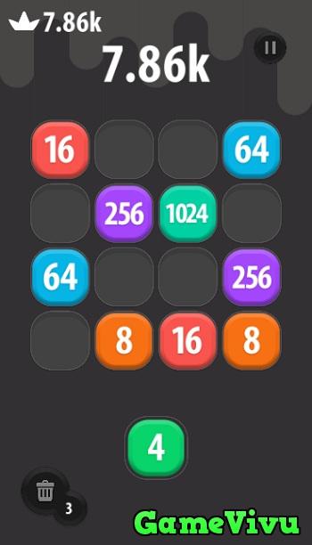 game 2048 phien ban moi hinh anh 2