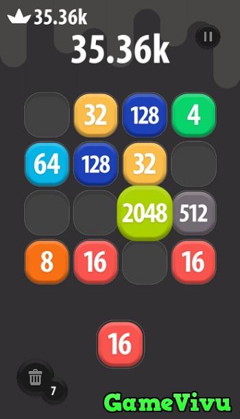 game 2048 phien ban moi hinh anh 3