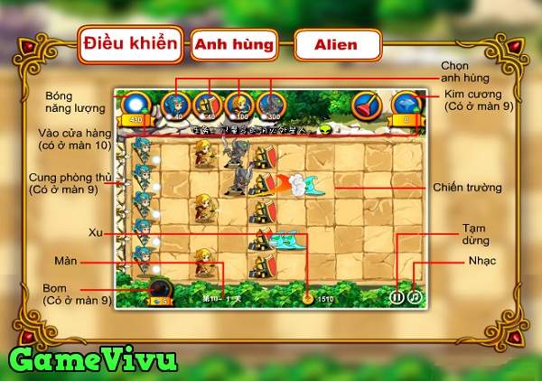 game Anh hung vs Alien hinh anh 1