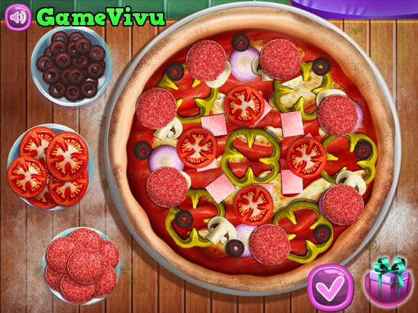 game Banh pizza thap cam hinh anh 2