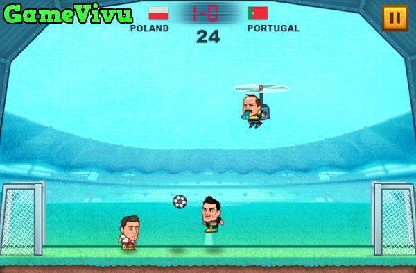 game Bong da dau to Euro 2016 2019