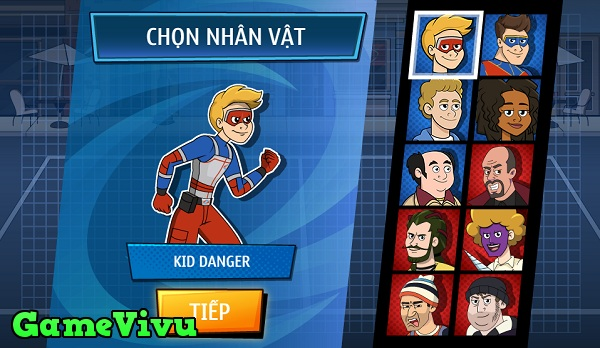 game Kid Danger: Cuoc chien khoai tay hinh anh 1