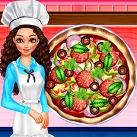 Làm bánh pizza xúc xích