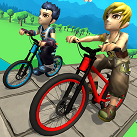 Xe đạp biểu diễn 3D